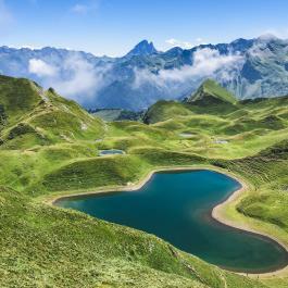 Lac du Montagnon Laruns Pyrénées Atlantiques