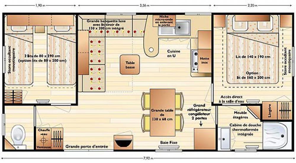 Plan - Mobile home Supertitania
